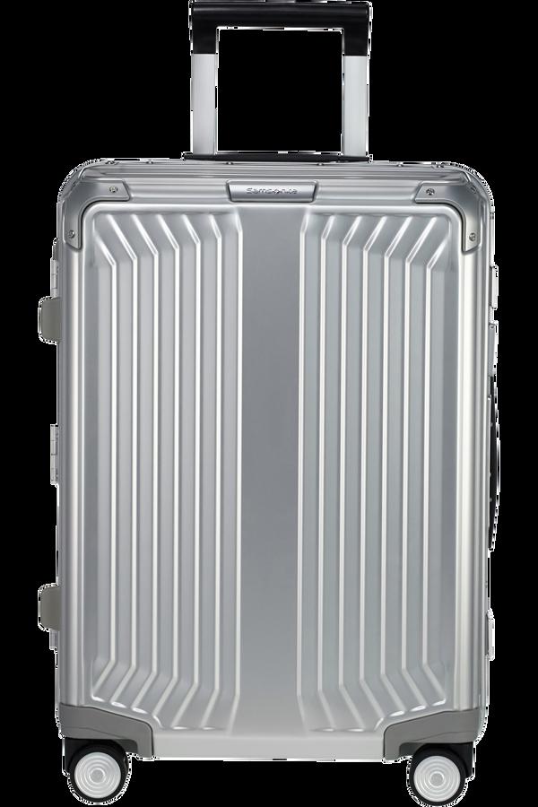 Samsonite Lite-Box Alu Spinner 55cm  Hlíníková stříbrná