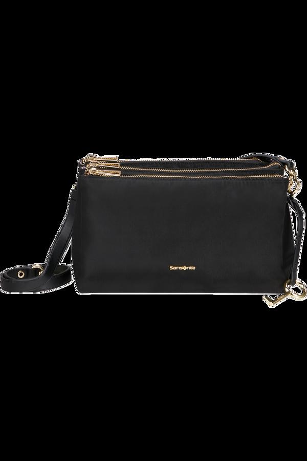 Samsonite Skyler Pro Horizontal Shoulder Bag 3 Comp S  Černá