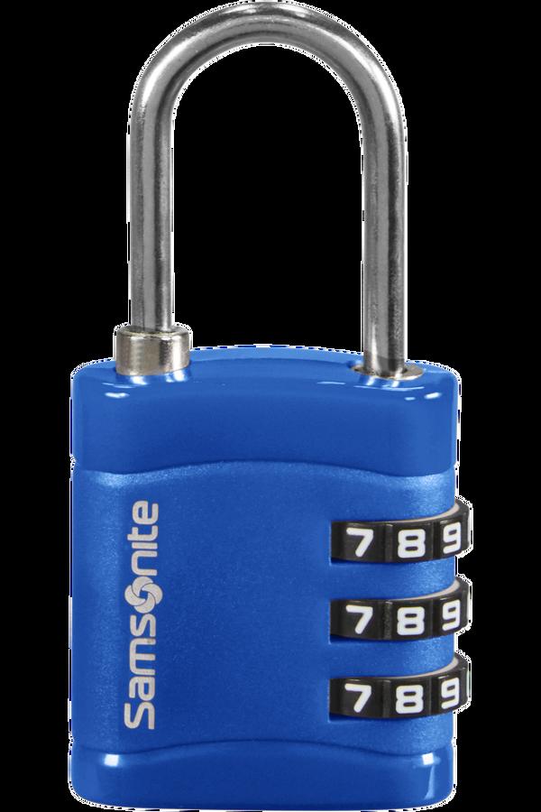 Samsonite Global Ta Combilock 3 dial light Půlnoční modrá