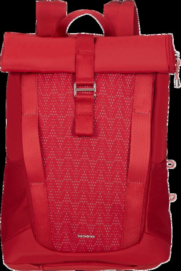 Samsonite 2WM Lady Roll Top Backpack  15.6inch Červená