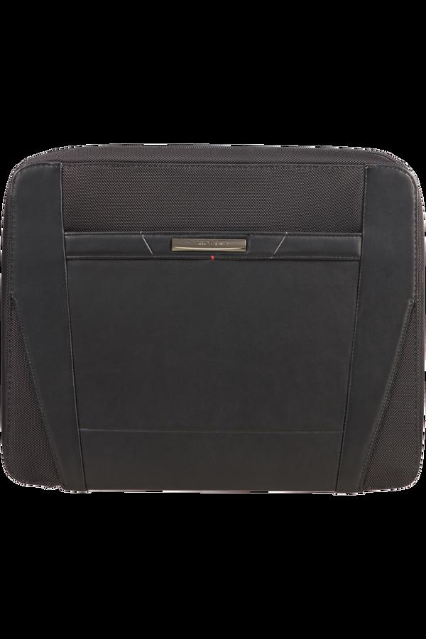 Samsonite Stationery Pro-Dlx 5 Zip Folder A4 Det B  Černá