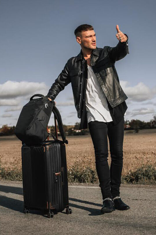 For easier and more fashionable travels