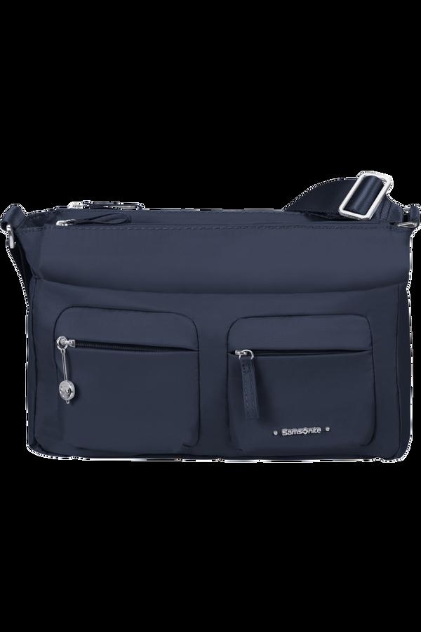 Samsonite Move 3.0 Horiz Shoulder Bag + Flap  Tmavě modrá