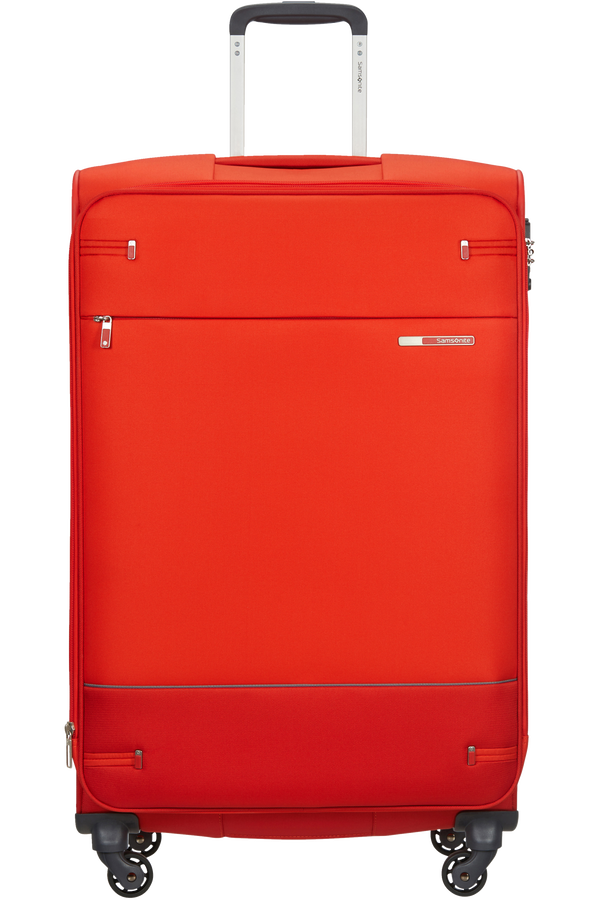Samsonite Base Boost Spinner Expandable 78cm  Fluo Red