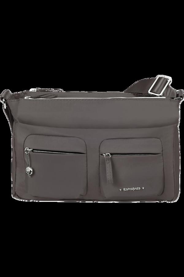 Samsonite Move 3.0 Horizontal Shoulder Bag + Flap  Tmavě šedá