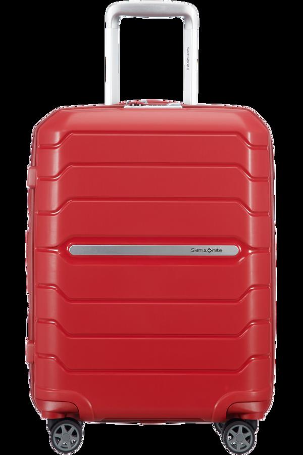 Samsonite Flux Spinner Expandable 55cm  Červená