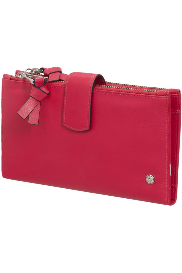 Samsonite Dame Jolie Slg 333 - L F W+DBL Zipper  Třešňová červená