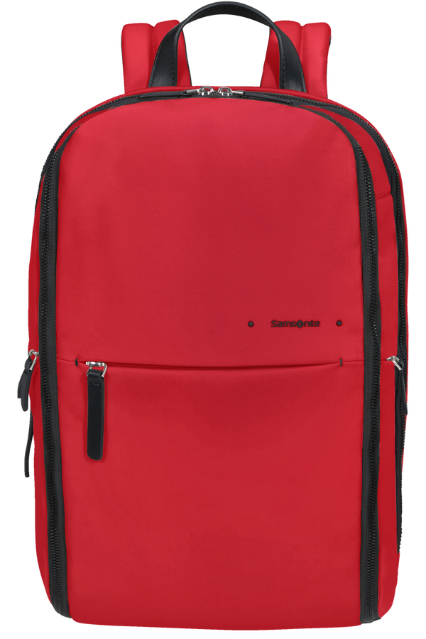 Samsonite Overnite Daytrip Backpack + SH.Comp  Červená