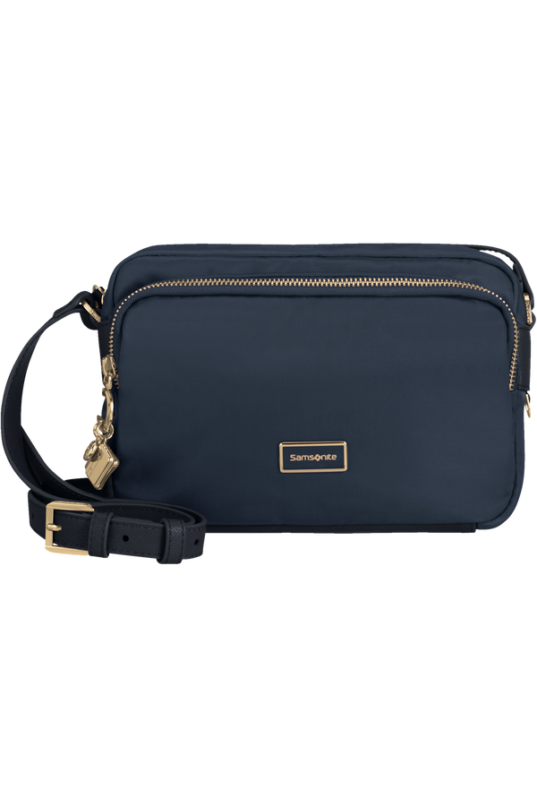 Samsonite Karissa 2.0 Pouch + Shoulder Bag M  Půlnoční modrá