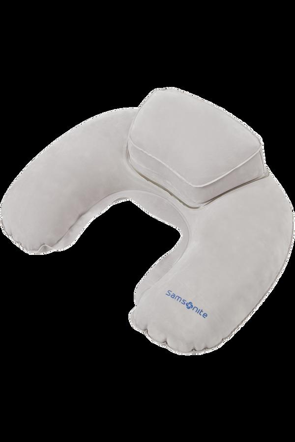 Samsonite Global Ta Double Comfort Pillow Grafitová šedá