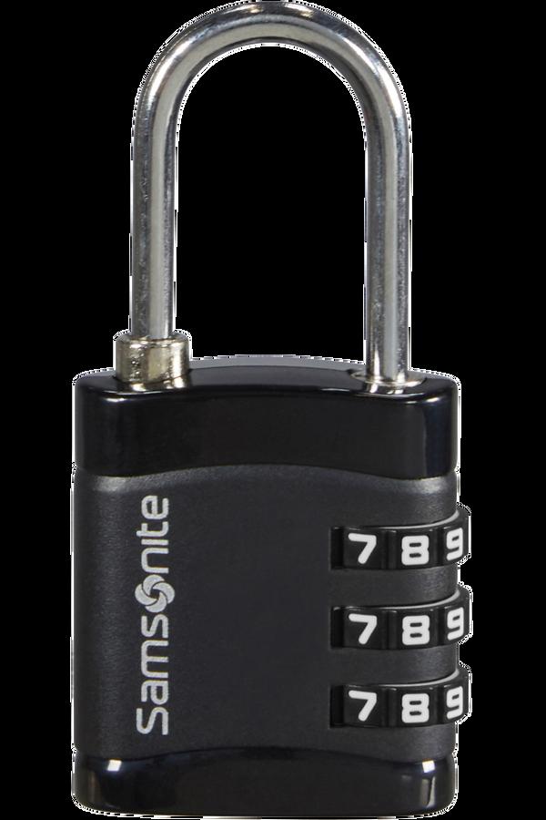 Samsonite Global Ta Combilock 3 dial light Černá