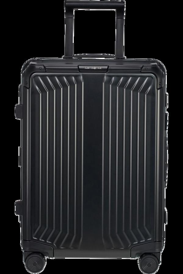Samsonite Lite-Box Alu Spinner 55cm  Černá