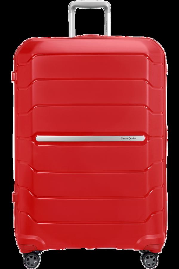 Samsonite Flux Spinner Expandable 81cm  Červená