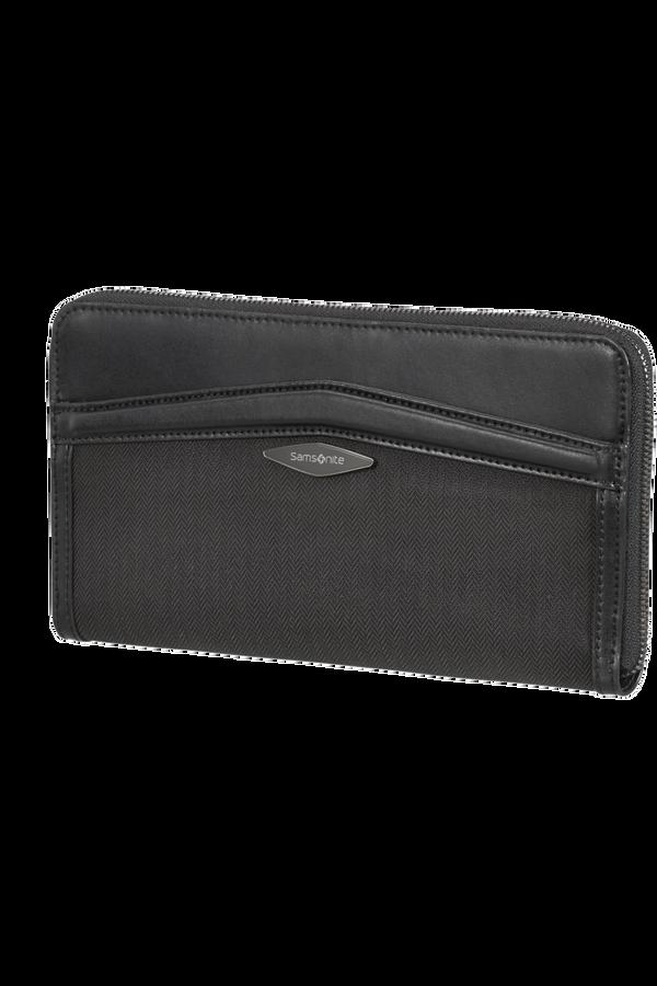 Samsonite Selar Travel Wallet  Černá