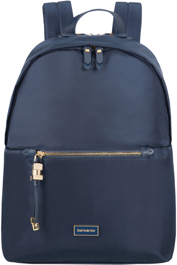 Samsonite Karissa Biz Round Backpack  35.8cm/14.1inch Tmavá námořní modrá