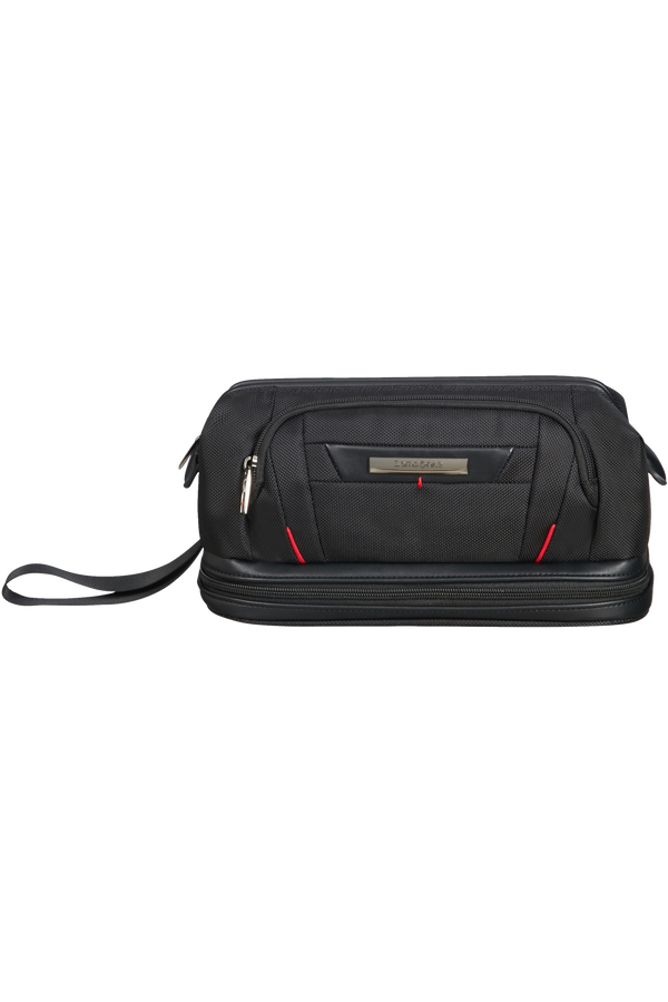 Samsonite Pro-Dlx 5 C. Cases Toiletry Bag Large Opening  Černá