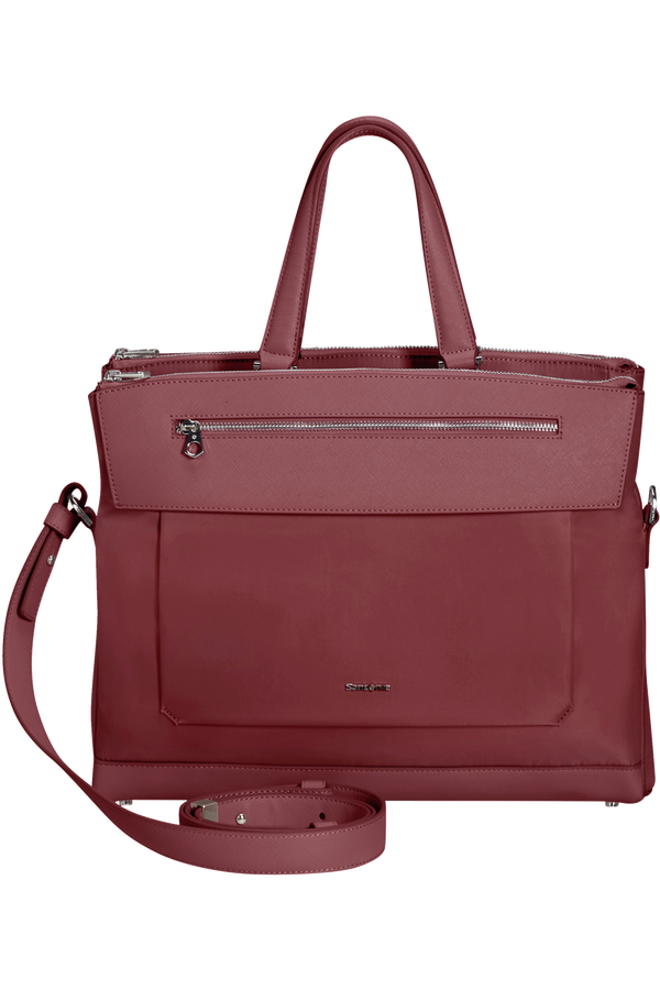 Samsonite Zalia 2.0 Bailhandle 3 Compartments 14.1'  Bordová červená