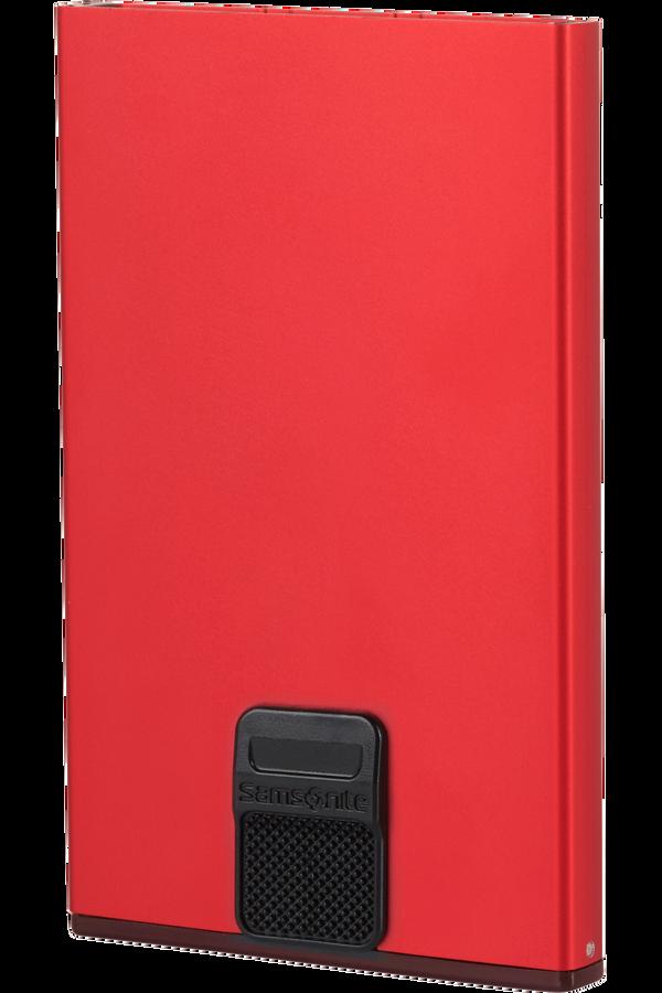 Samsonite Alu Fit 201 - Slide-up Case  Červená