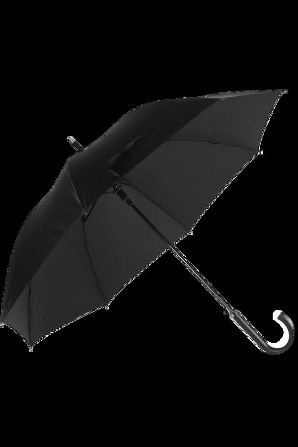Samsonite Rain Pro Stick Deštník, Černá