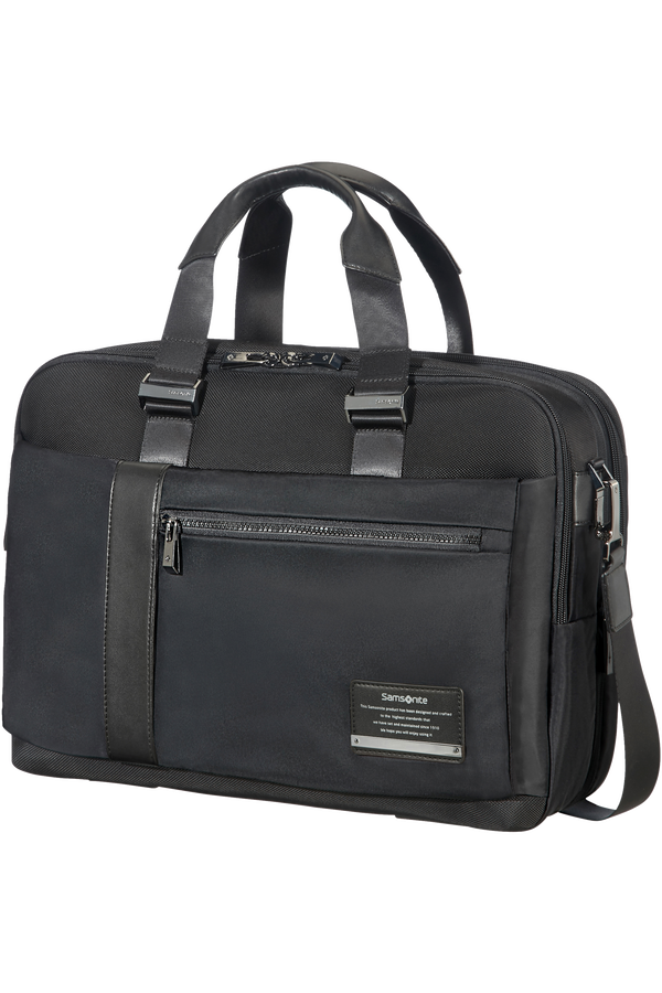 Samsonite Openroad Bailhandle Expandable  39.6cm/15.6inch Jet Black