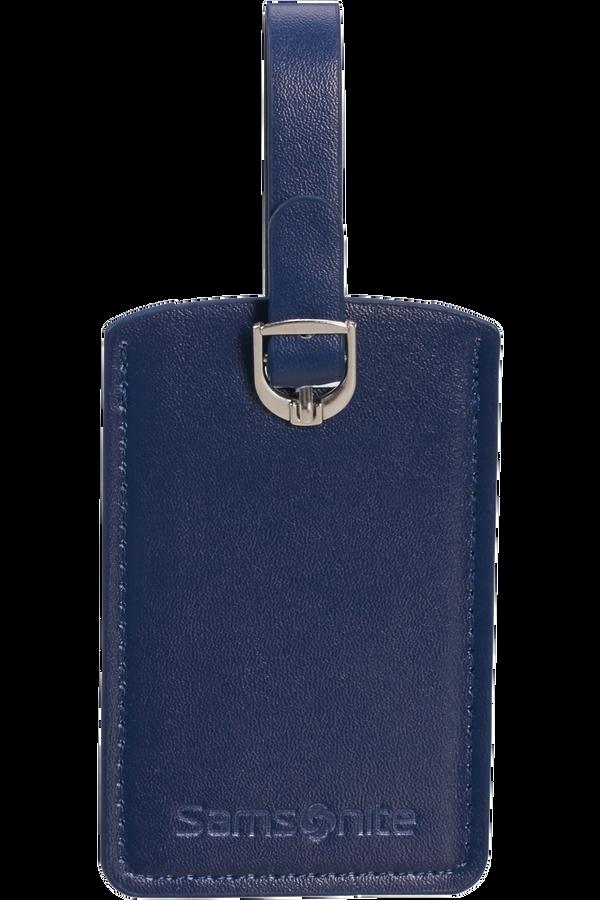 Samsonite Global Ta Rectangle Luggage Tag x2 Půlnoční modrá