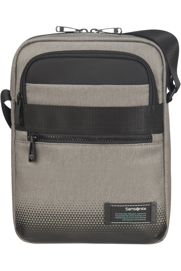 Samsonite Cityvibe 2.0 Tablet Crossover Bag  9.7inch Popelavá šedá
