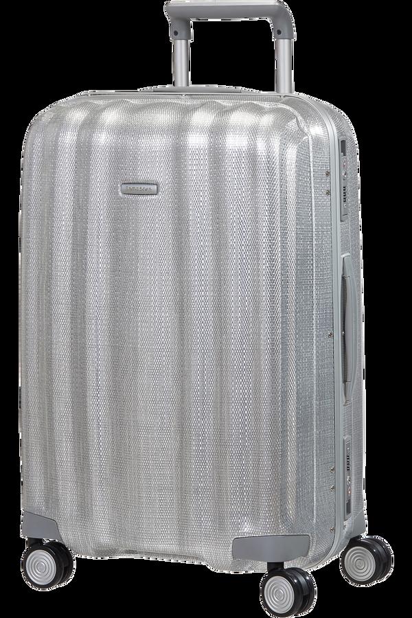Samsonite Lite-Cube FR Spinner 68cm  Hlíníková stříbrná