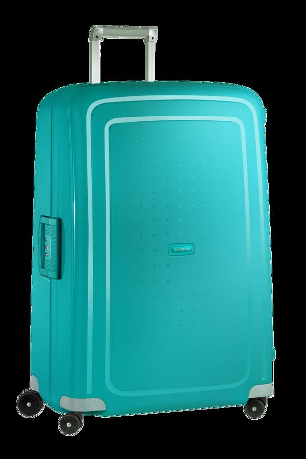 Samsonite S'Cure Spinner(4 kolečka) 81cm, Modro-zelená