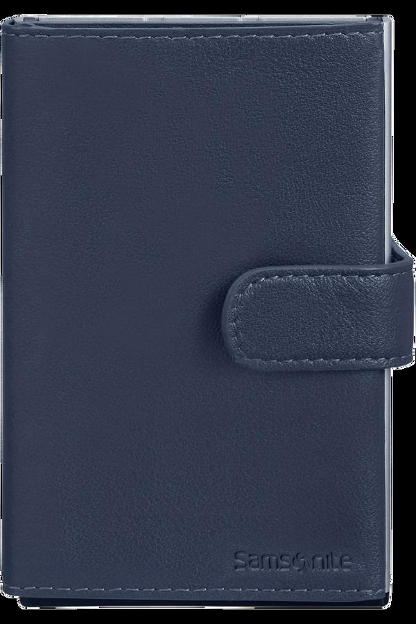 Samsonite Alu Fit 202 - Slide-up Wallet  Modrá