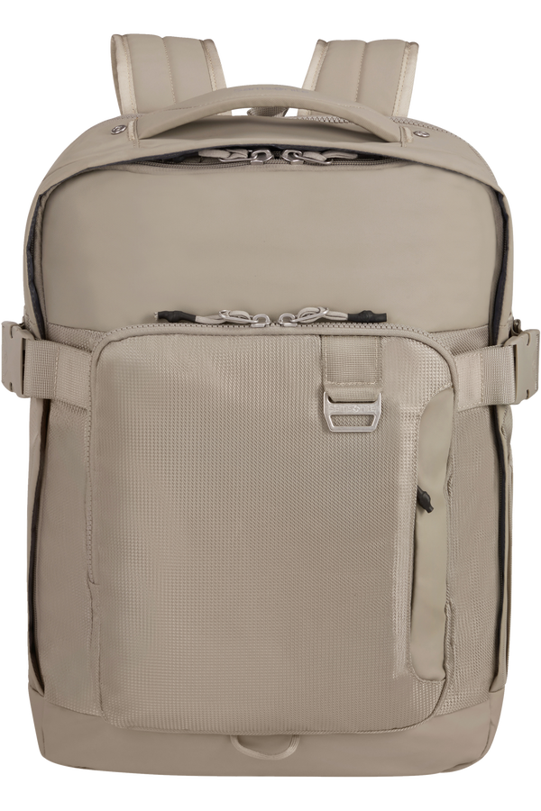 Samsonite Midtown Laptop Backpack Expandable L 15.6inch Písková