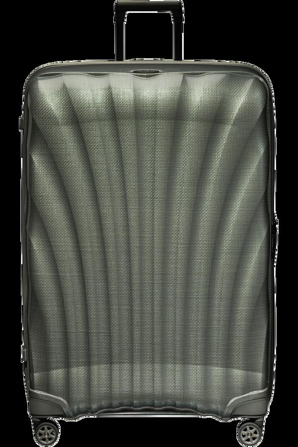 Samsonite C-Lite Spinner 86cm  Metalická zelená