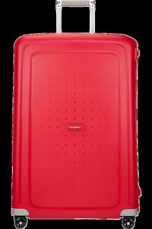Samsonite S'Cure Spinner(4 kolečka) 81cm, Červená