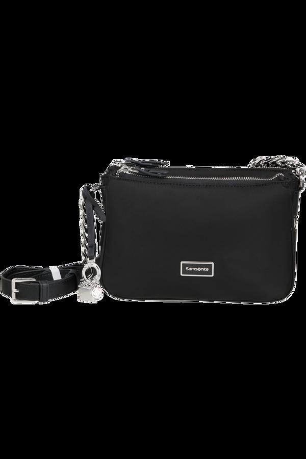 Samsonite Karissa 2.0 H. Shoulder Bag 3 Compartments S  Černá