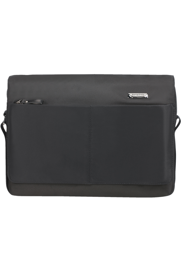 Samsonite Hip-Tech 2 Messenger 12.9'+Flap  Černá