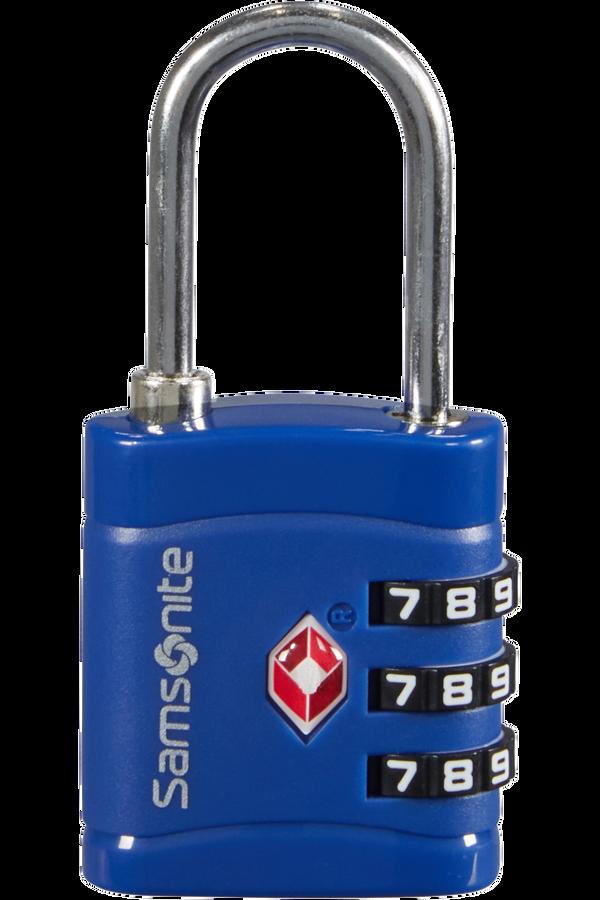 Samsonite Global Ta Combilock 3 dial TSA light Půlnoční modrá