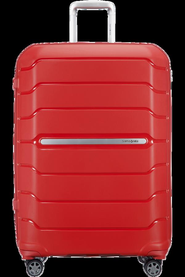 Samsonite Flux Spinner Expandable 75cm  Červená