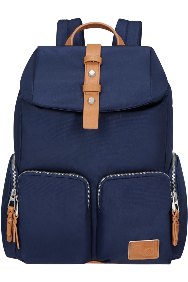Samsonite Yourban Backpack 4pkt + Flap  14.1inch Půlnoční modrá
