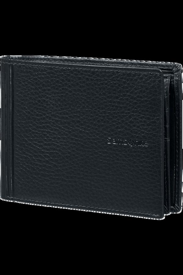 Samsonite Double Leather Slg 007 - B 7CC+VFL+C+2C+W  Černá