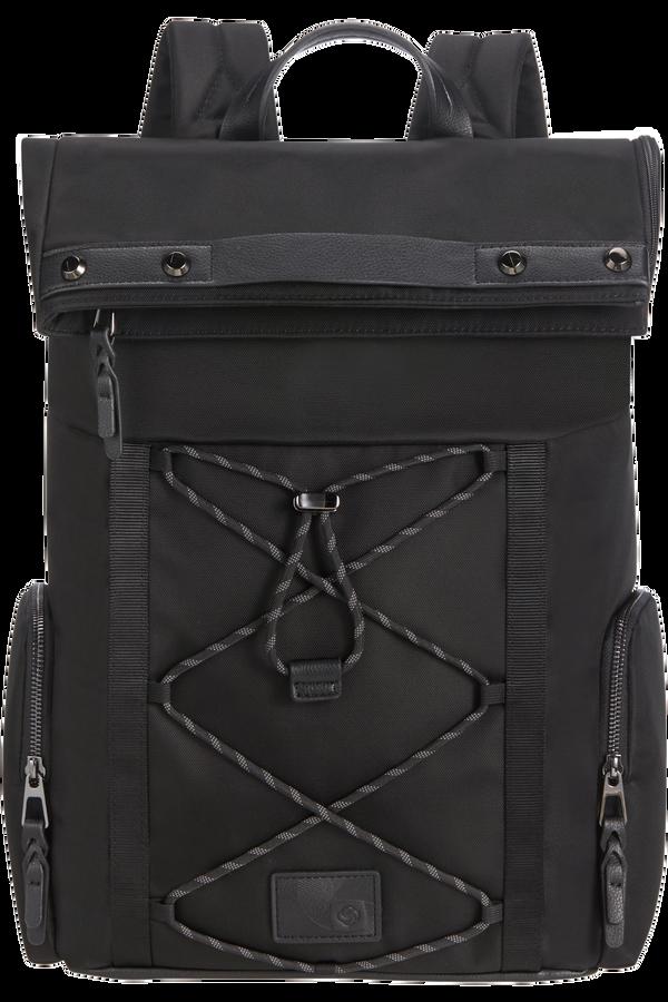 Samsonite Yourban Backpack + Flap  15.6inch Černá