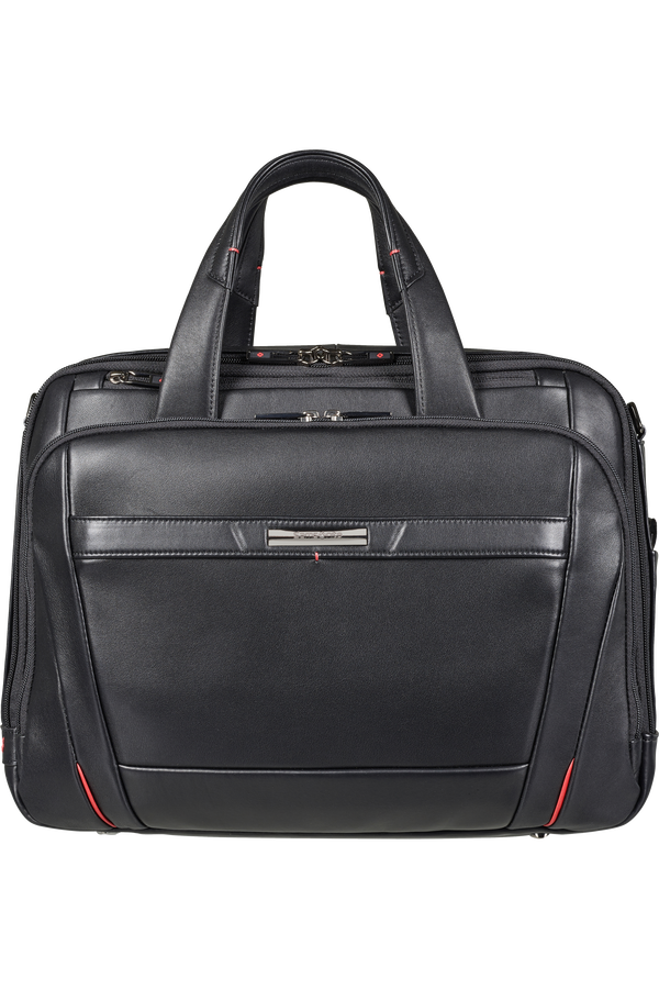 Samsonite Pro-Dlx 5 Lth Laptop Bailhandle Expandable  15.6inch Černá