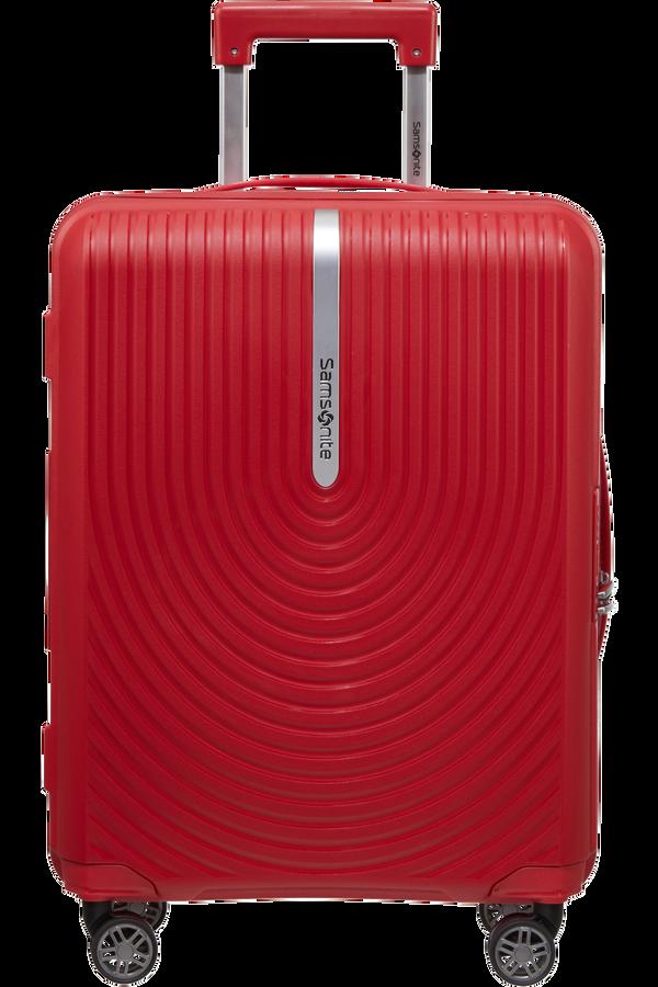 Samsonite Hi-Fi Spinner Expandable 55cm  Červená
