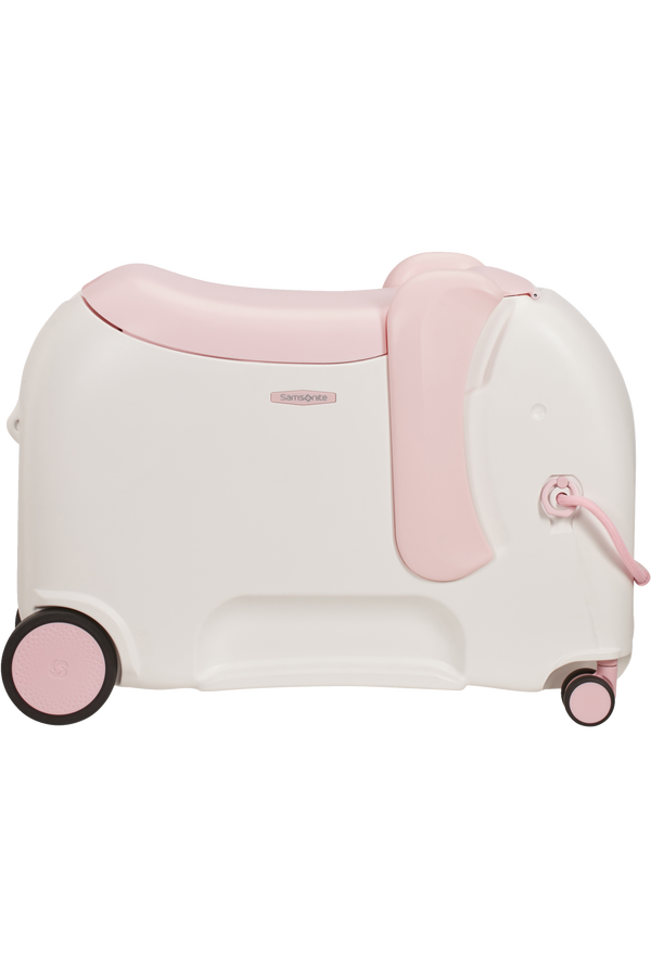 Samsonite Dream Rider Deluxe Ride-On Spinner Elephant  Elephant Peachy