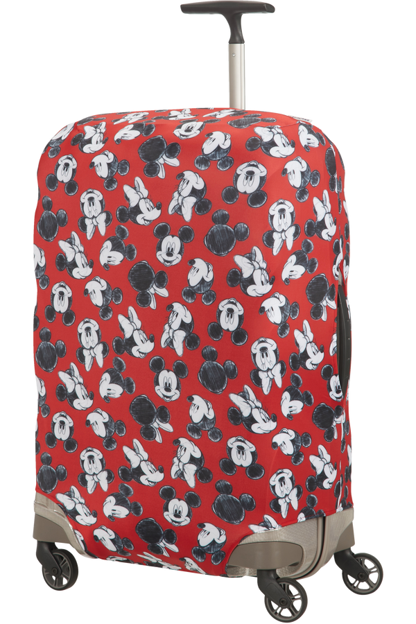 Samsonite Global Ta Disney Lycra Cover Disney M Mickey/Minnie Red