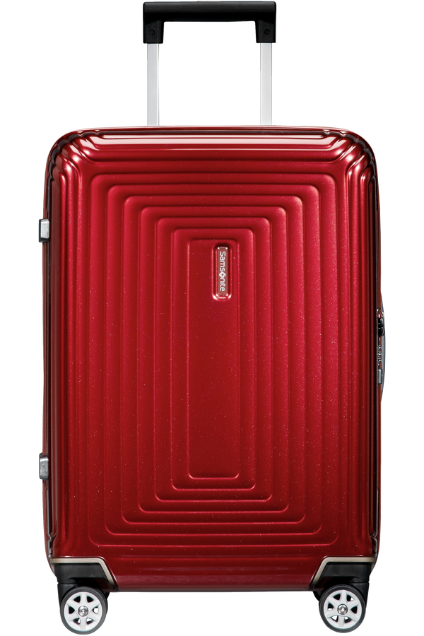 Samsonite Neopulse Spinner 55/23 cm  Metalická červená