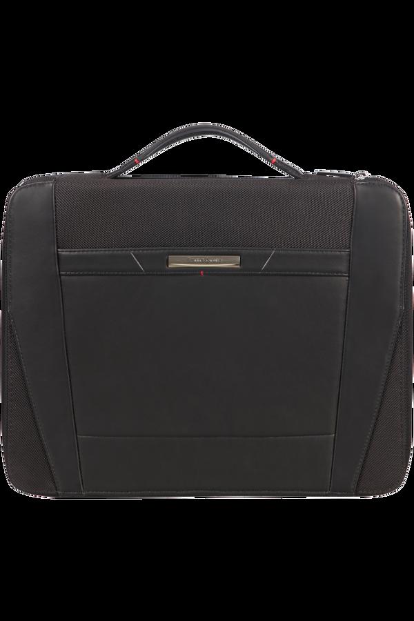 Samsonite Stationery Pro-Dlx 5 Zip Folder A4 Top H+Det B  Černá