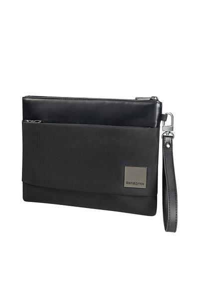 Hip-Square Clutch Bag