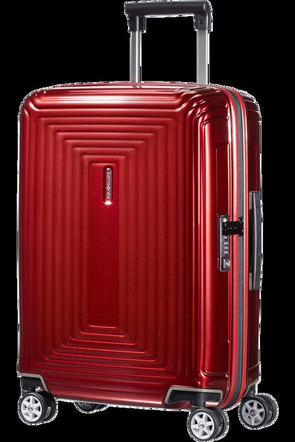 Samsonite Neopulse Spinner(4 kolečka) 55cm, Metalická červená
